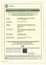 Сертификат на фасадные люльки ZLP